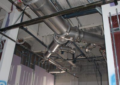 UNCW Dobo Hall SS Exhaust and HVAC